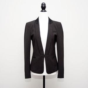 Zara Tuxedo Jacket with Satin Collar